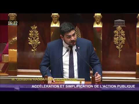 Présentation du projet de loi ASAP en hémicycle
