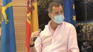 """Felipe VI: """"Saldremos adelante con unión, responsabilidad y solidaridad"""""""
