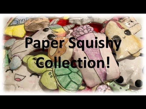 My Paper Squishy Collection!