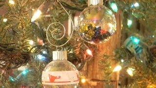 Оригинальные новогодние шары своими руками