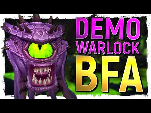 BIG REVAMP! The NEW Demonology Warlock in Battle for Azeroth Alpha - World of Warcraft