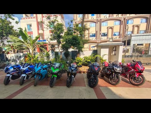 Lots Of Superbikes In One Row 😍 Puri Day 2