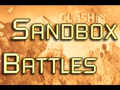 NEW CLASH OF CLANS MOD/HACK // Sandbox Battles Ep. 1