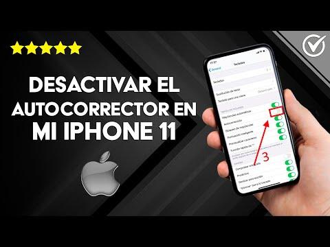 Cómo Desactivar o Quitar el Autocorrector en mi iPhone 11 Pro Max, iPhone XS Max