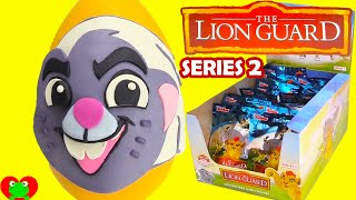 Lion Guard Bunga Play Doh Surprise Egg with SERIES 2 Blind Bags