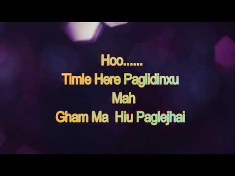 Lyrics Video -Duniya Beglai Chha - Nicky Karki