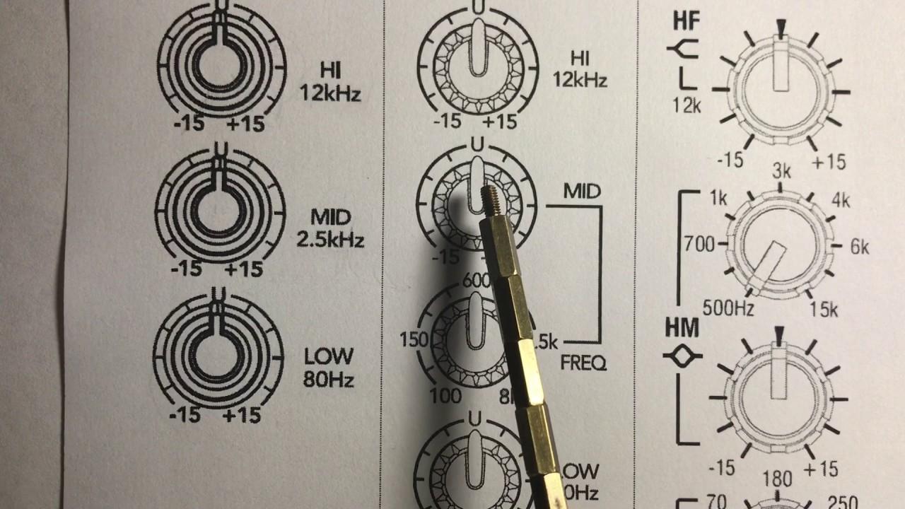¿Como operar una consola de sonido? 3/6 Ecualizacion