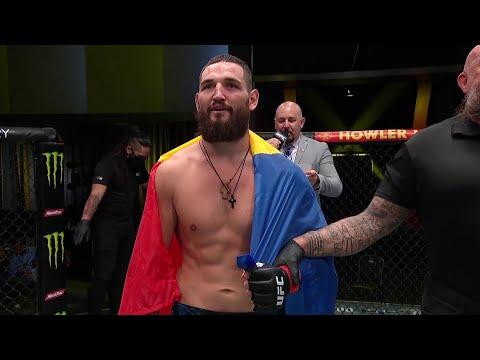 Nicolae Negumereanu Octagon Interview | UFC Vegas 41