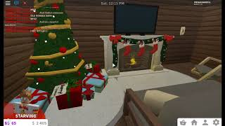 My Roblox Christmas Cabin In Welcome To Bloxburg!