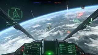 Star Citizen Alpha 3.5 PTU Flight Model Test in Arena Commander