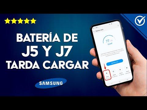 Cómo Solucionar que la Batería del Samsung J5 y J7 que Tarda en Cargar