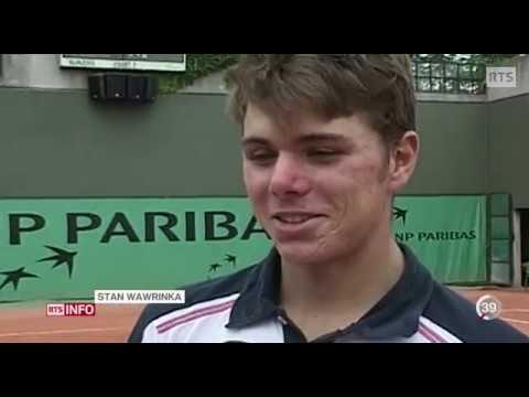 Portrait du joueur de tennis suisse Stan Wawrinka