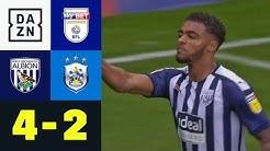 Trotz Rückstand! West Brom weiter ungeschlagen: West Brom - Huddersfield 4:2 | Championship | DAZN
