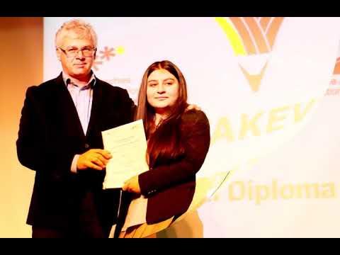 A2 ve DSD-I Dil Diploma Töreni