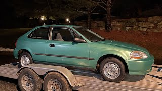 homepage tile video photo for 1399 ORIGINAL MILE MIDORI GREEN EK CIVIC HATCHBACK! I MUST OWN!