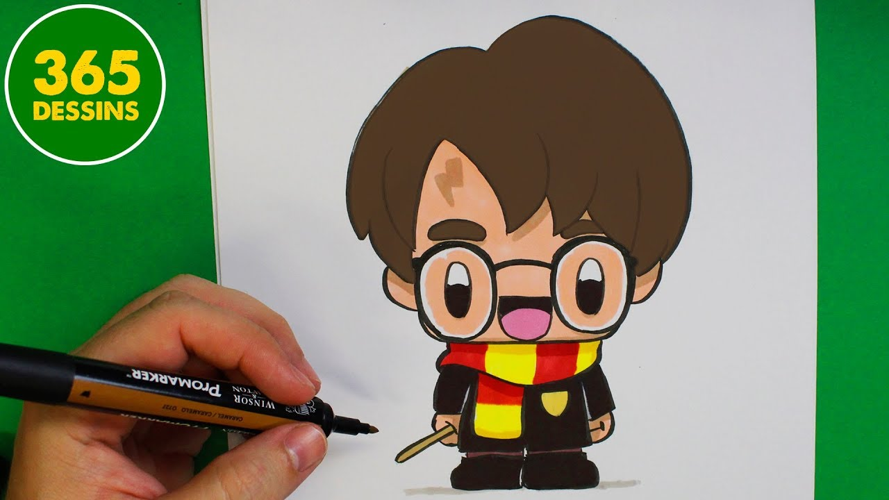 Comment Dessiner Harry Potter Kawaii Comment Dessiner Kawaii