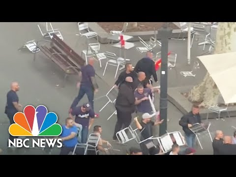 Violence Mars Spain's National Day In Barcelona | NBC News