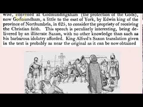 King Edwin's speech
