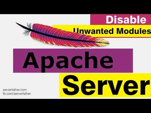 How to Disable Unwanted Modules in Apache http Server Secure and Hardening