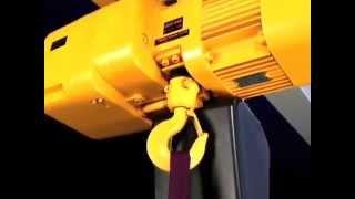 видео Таль электрическая цепная (тельфер) г/п 1,0 т Н=12 м