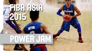 Filipino Fire Power in Full Flow!  - 2015 FIBA Asia Championship
