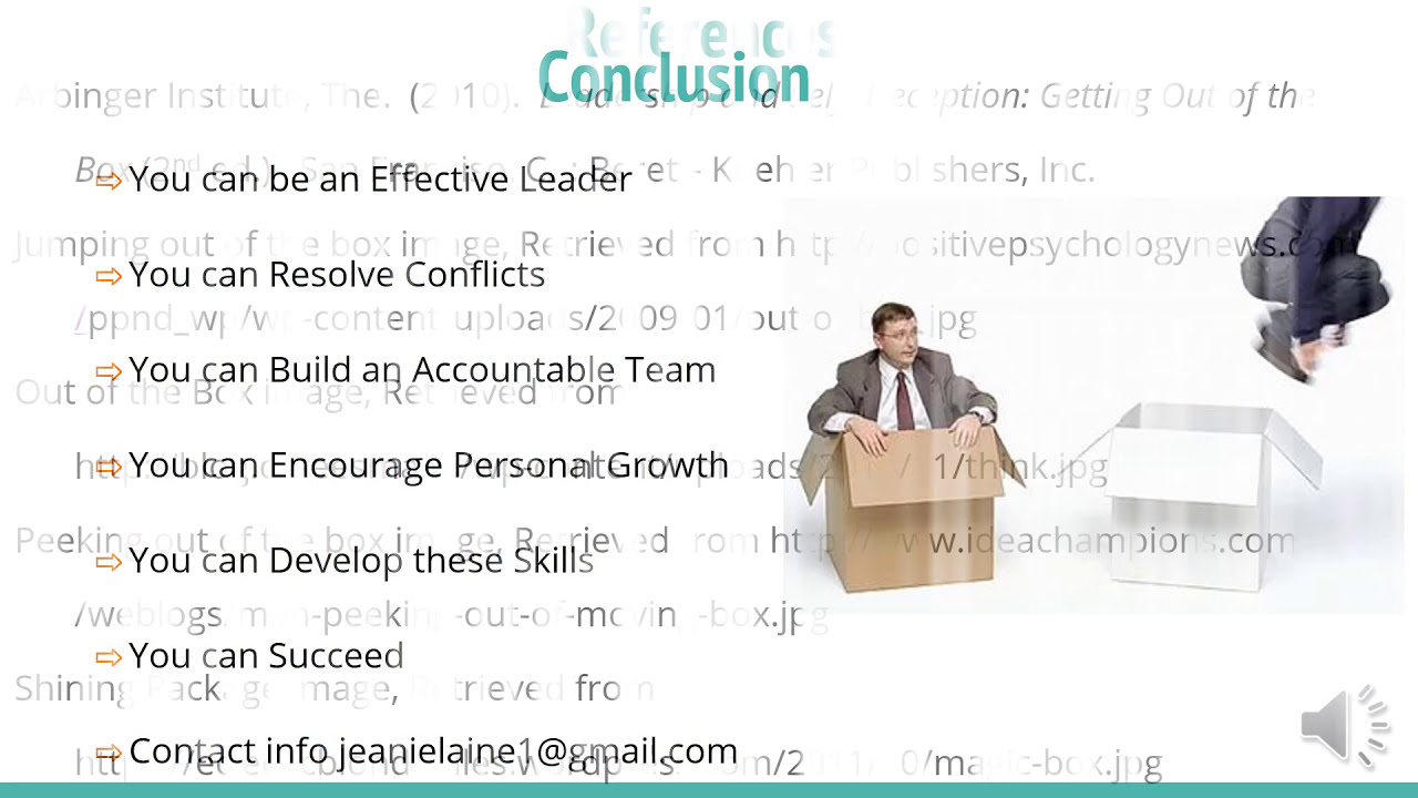 Leadership and Self Deception: Getting Out of the Box - YouTube