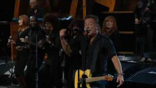 Bruce Springsteen w. Sam Moore - Hold On... / Soul Man - Madison Square Garden, NYC 2009/10/29&30
