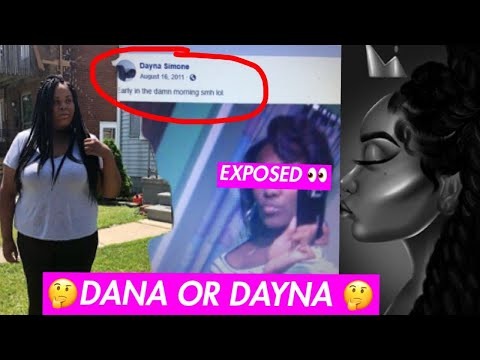 TINA FOUND DAYNA FROM ALL TEA ALL SHADE !?!