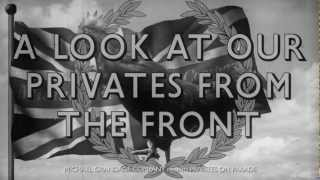 Privates on Parade -- Pathe Newsreel (HD)