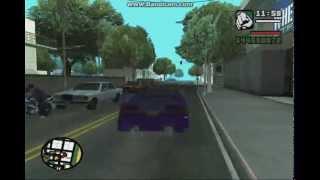 cara memodifikasi mobil di GTA san andreas