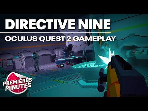 Directive Nine - Gameplay Oculus Quest | Quest 2