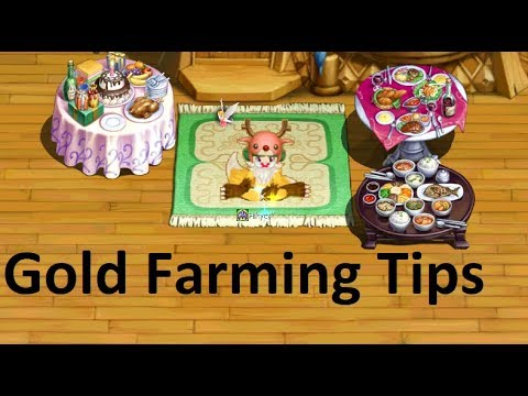 Nostale - How To Make Money Gold Farming Tips All Lvl Part. 1