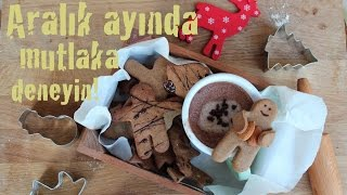 Zencefilli kurabiye ve Sıcak çikolata  / Yılbaşı #1