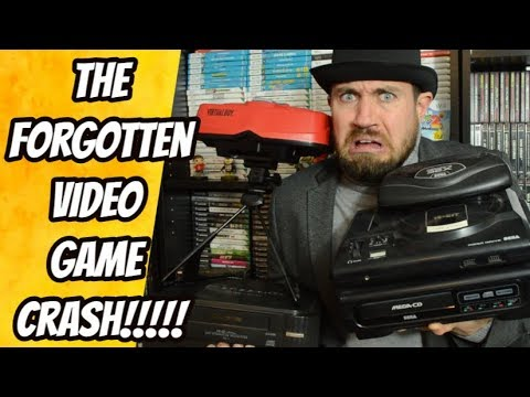 The Second Video Game Crash !!! - Atari Jaguar, Sega 32X, 3DO  - THGM