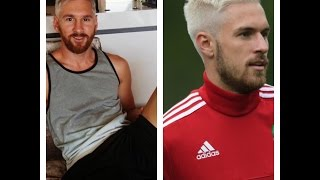 Lionel Messi becomes latest footballer to bleach hair blond || All the players at this video 2016