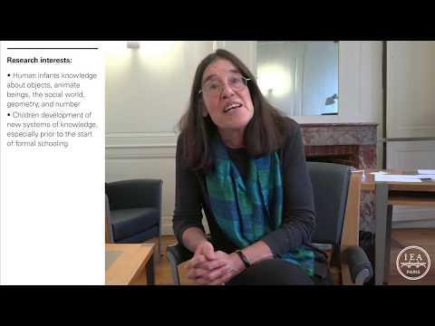 Elizabeth Spelke, 2017-2018 Paris IAS fellow