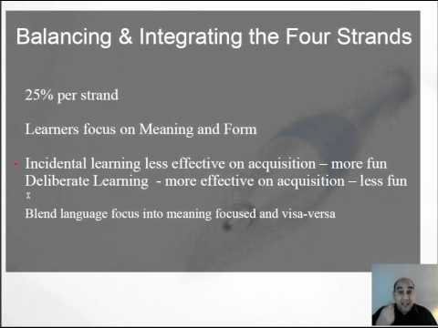 NLS-01-The Parts of Language Teaching & The Goals Of Language Teaching