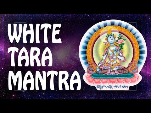 WHITE TARA Mantra BE HEALTHY & STRONG With BUDDA! HEAL THYSELF!  Powerful Medicine Mantras PM 2019