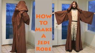 How To Make A Jedi Robe!