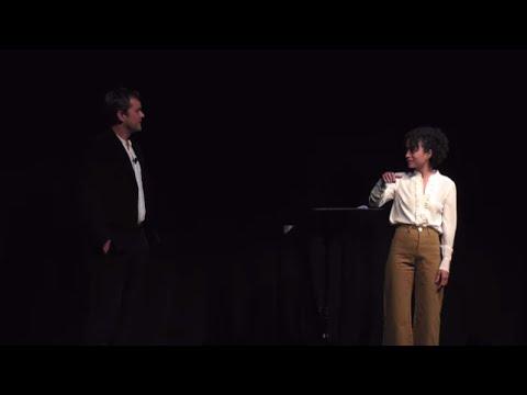 #StartListening   Joshua Jackson & Lauren Ridloff   TEDxBroadway