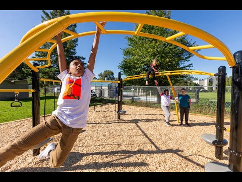 Lord Elgin's playgrounds making the schools students happy