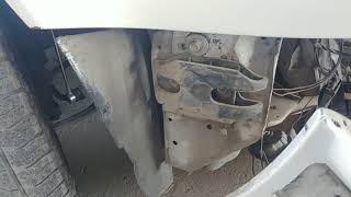 как снять бампер противотуманку BMW E34 M50 1995 года