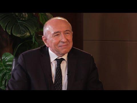 """Gérard Collomb : """"Il y a une volonté commune d'agir contre les passeurs et l'immigration.."""""""