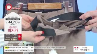 [홈앤쇼핑] 엔디프 여성 인사이드밴딩 면 팬츠 3종