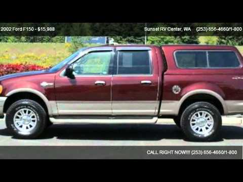 2002 Ford F150 4x4 King Ranch - for sale in ; Bonney Lake WA __ WE ARE RV'S __ ;, WA 98391 - YouTube