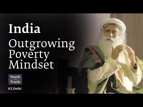 India Outgrowing Poverty Mindset - IIT Delhi Students with Sadhguru, 2017