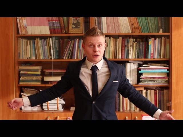 Изображение предпросмотра прочтения – ЕгорКуликов читает произведение «Внимательное отношение к взяточникам» В.В.Маяковского