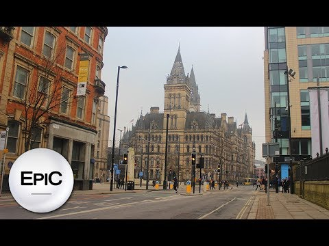 Quick City Overview: Manchester, England UK (HD)