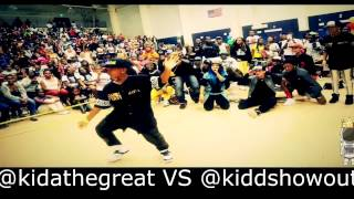 Kida Vs Kidd Dance Battle