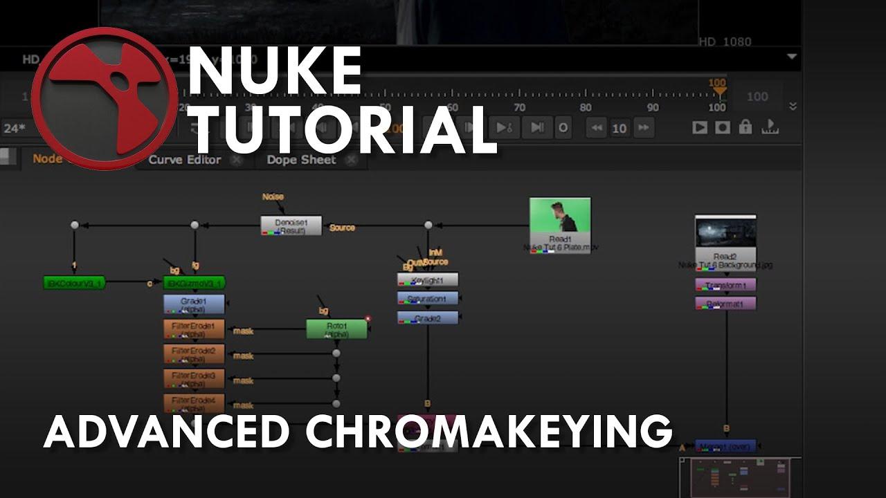 Nuke Tutorial - Advanced Chromakeying